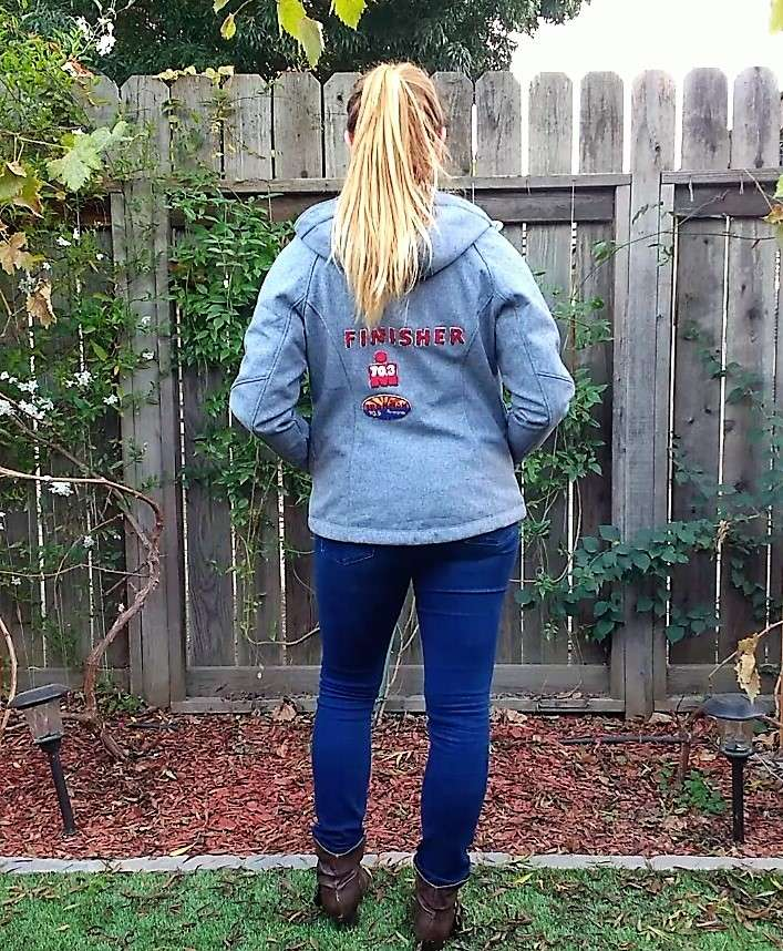 DIY Finisher's Jacket and Patches