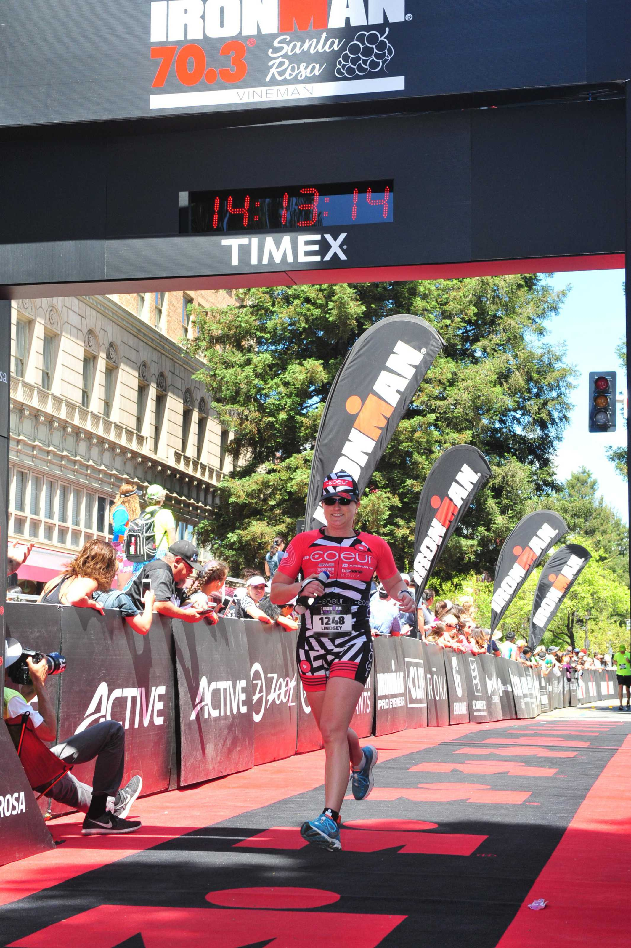 Ironman Santa Rosa 70.3 2017 Race Report – Finish & Afterthoughts