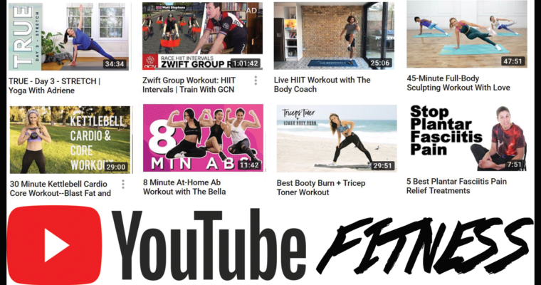 My Favorite Fitness YouTube Channels